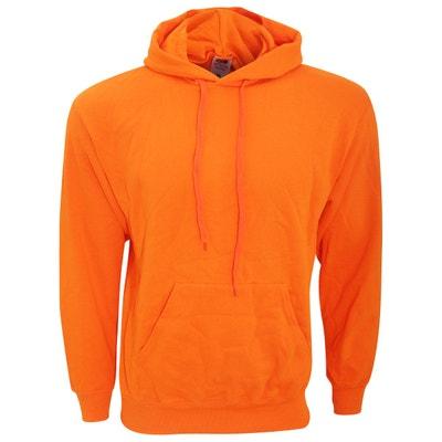 7e3bca0a1ee2b Sweat orange homme en solde   La Redoute