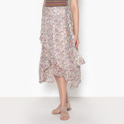 Dyork Printed Flared Skirt BA&SH