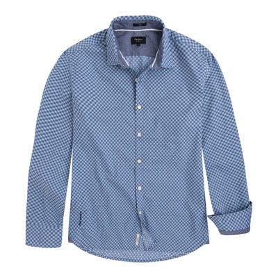 Rechte bedrukte blouse MAYWARD, zuiver katoen Rechte bedrukte blouse MAYWARD, zuiver katoen PEPE JEANS