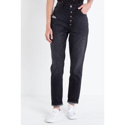 Jeans  mom destroy taille haute BONOBO
