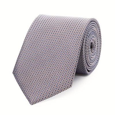 3c994875febf Cravate en pure soie à puces Cravate en pure soie à puces BRUCE FIELD