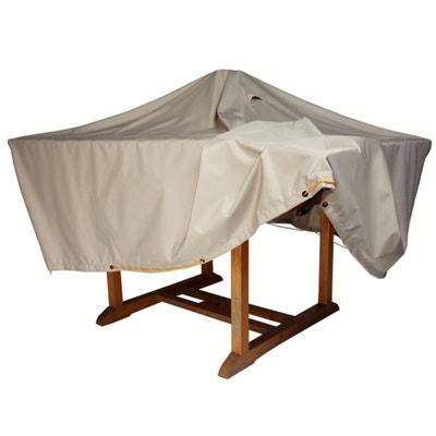 Housse imperméable table de jardin larg. 170 cm Housse imperméable table de jardin larg. 170 cm LA REDOUTE SHOPPING PRIX
