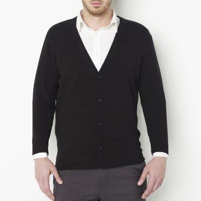 Casaco com botões, puro algodão Casaco com botões, puro algodão CASTALUNA FOR MEN