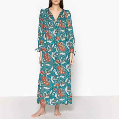 Kleid KALAO DRESS mit Blumenaufdruck ANTIK BATIK
