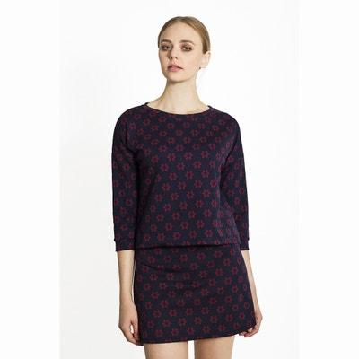 Floral Print Sweatshirt Floral Print Sweatshirt MIGLE+ME