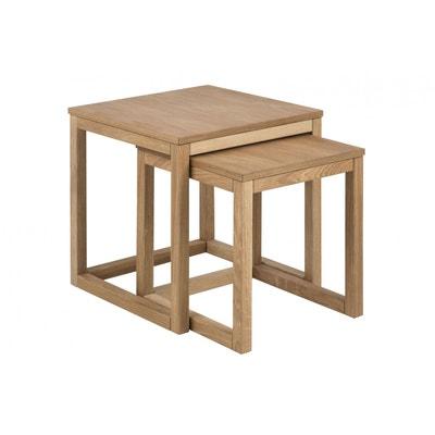 Table Basse Chene Clair En Solde La Redoute