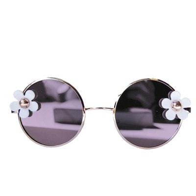 Lunettes de soleil fleuries Pink Roses BANA Sunglasses 3Zdox5