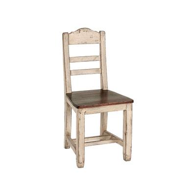 Chaise salle a manger bois massif en solde la redoute - Chaises la redoute soldes ...