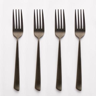 Lot de 4 fourchettes inox, Sarubbo AM.PM.