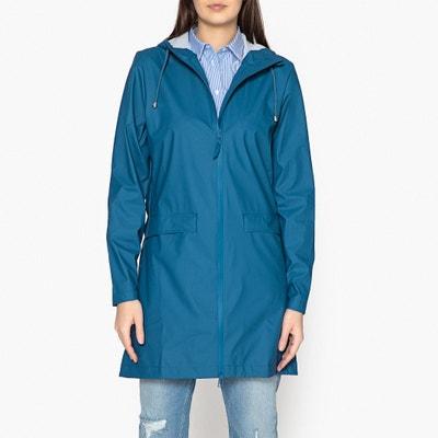 Coat Mid-Length Hooded Waterproof Jacket RAINS