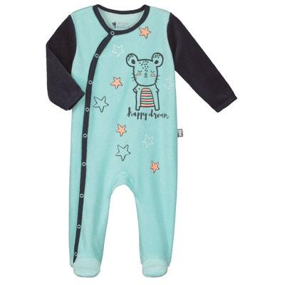 Pyjama bébé velours Lapinou PETIT BEGUIN 5f5fd2be4bb