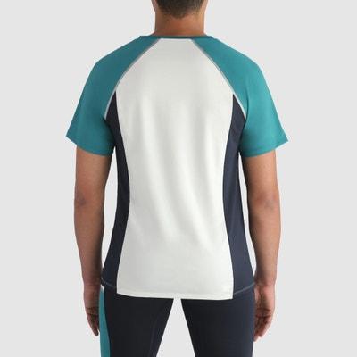 T-shirt lisa com gola redonda, mangas curtas DIM SPORT