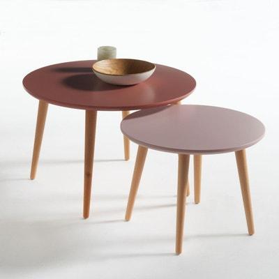 Table basse gigogne, JIMI (lot de 2) Table basse gigogne, JIMI (lot de 2) La Redoute Interieurs