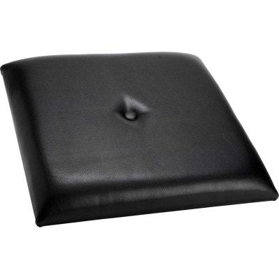 Tete de lit coussin noir KORB