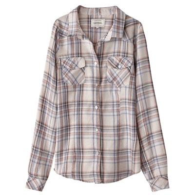 Checked Cotton Shirt KAPORAL 5