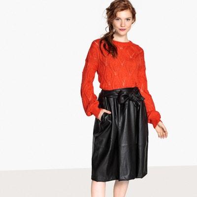 Sweter z cienkiej dzianiny, okrągły dekolt Sweter z cienkiej dzianiny, okrągły dekolt MADEMOISELLE R