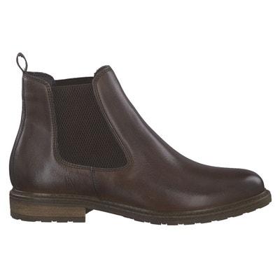 Boots cuir Belin Boots cuir Belin TAMARIS