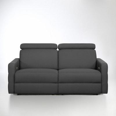 Canapé de relaxation électrique coton demi-natté, Hyriel Canapé de relaxation électrique coton demi-natté, Hyriel La Redoute Interieurs