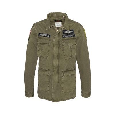 Parka militaire WILLIMANS 100% coton avec badges Parka militaire WILLIMANS  100% coton avec badges 92c2419a786c