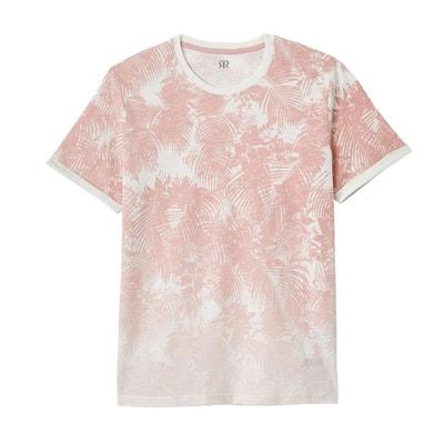 T-shirt imprimé col rond La Redoute Collections