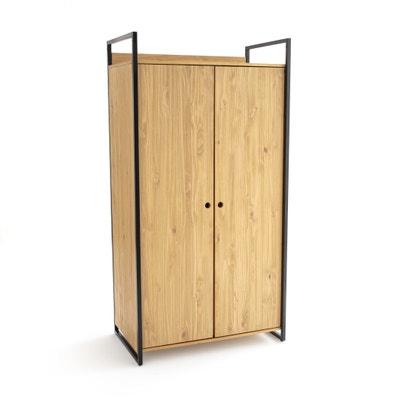 Hiba 2 Door Wardrobe with Hanging Rail Hiba 2 Door Wardrobe with Hanging Rail La Redoute Interieurs