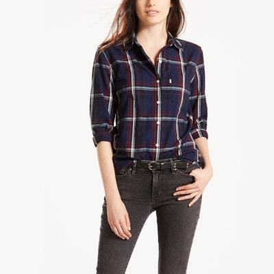 Cotton Checked Shirt LEVI'S