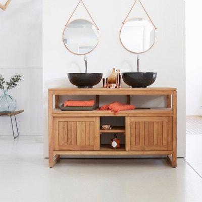 meuble salle de bain en bois de teck 120 colonial meuble salle de bain en bois