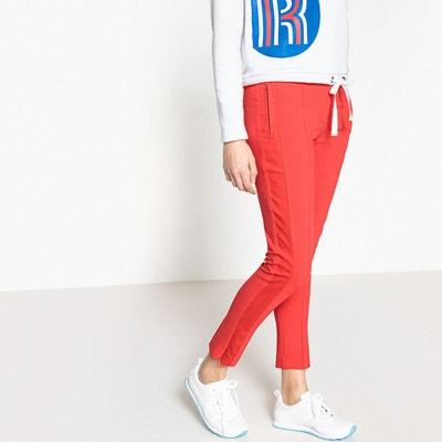 Pantalon droit avec poches zippées Pantalon droit avec poches zippées La Redoute Collections