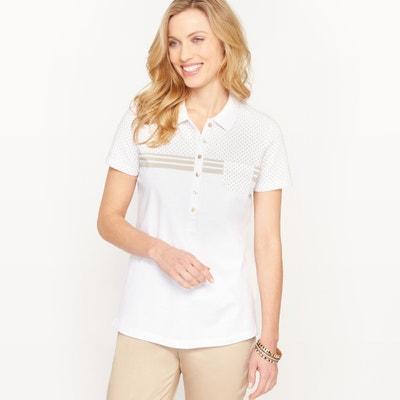 Combed Cotton Piqué Polo Shirt Combed Cotton Piqué Polo Shirt ANNE WEYBURN