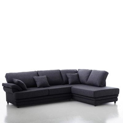 Hoekcanapé, vast model, uitstekend comfort, mêlee, Newcastle La Redoute Interieurs