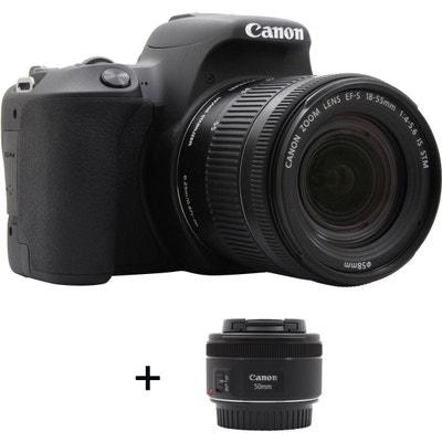 Appareil photo Reflex CANON EOS 200D + 18-55mm + 50mm f/1.8 Appareil photo Reflex CANON EOS 200D + 18-55mm + 50mm f/1.8 CANON
