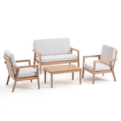 Ensemble table chaise de jardin en solde la redoute - La redoute salon jardin ...