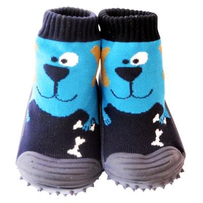 Chaussons-chaussettes antidérapants CHIEN Chaussons-chaussettes antidérapants CHIEN C2BB
