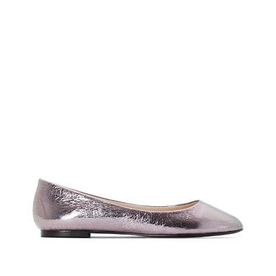 Metallic ballerina's, brede voet 38-45 CASTALUNA