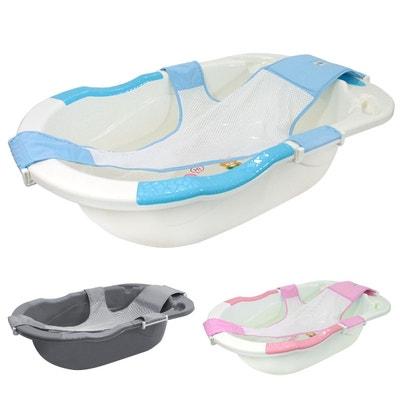 Baignoire bébé évolutive avec hamac de bain + Grip + Vidange MONSIEUR BEBE