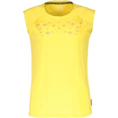 2ed43921bfd1 T-shirt manches courtes Femme - jaune MALOJA