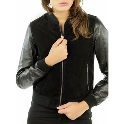 Veste en cuir et simili cuir femme (page 3)   La Redoute 9ba4b76c2b5c