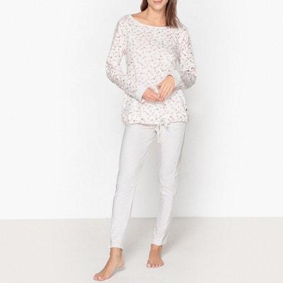 Pyjama coton imprimé plumes Pyjama coton imprimé plumes DODO