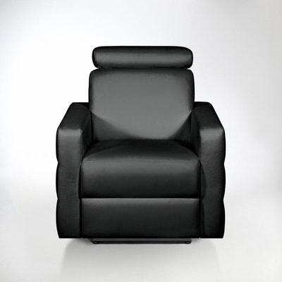 fauteuil de relaxation cuir hyriel fauteuil de relaxation cuir hyriel la redoute interieurs - Fauteuille Relax