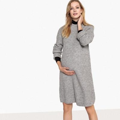 Robe de grossesse en tricot Robe de grossesse en tricot LA REDOUTE MATERNITÉ e3886add6345