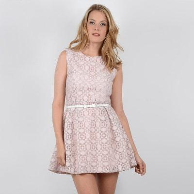 Effen korte jurk zonder mouwen Effen korte jurk zonder mouwen MOLLY BRACKEN