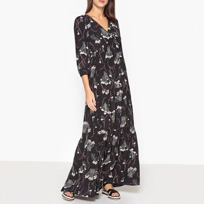 Kina Printed V-Neck Maxi Dress BA&SH