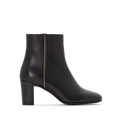 Deaclan Heeled Leather Ankle Boots Deaclan Heeled Leather Ankle Boots JONAK