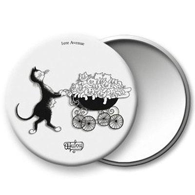 Petit miroir de sac Les Chats de Dubout Petit miroir de sac Les Chats de Dubout ROYAL THERMES