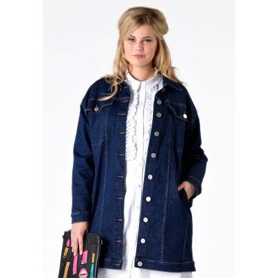 Veste en jean femme en solde   La Redoute 3d920722d169
