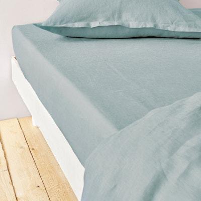 100% Linen Fitted Sheet La Redoute Interieurs