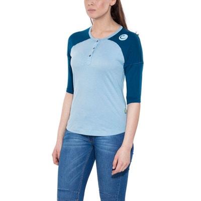Highball - T-shirt manches longues Femme - bleu EDELRID