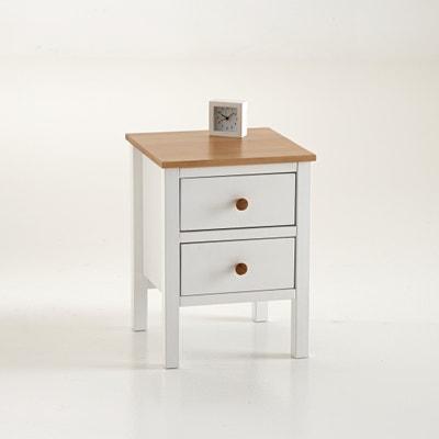 Ashin 2-Drawer Bedside Cabinet La Redoute Interieurs