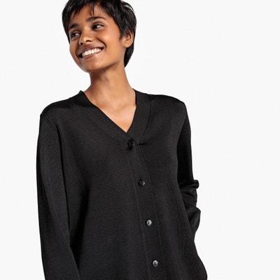 Gilet scollo a V maglia brillante Gilet scollo a V maglia brillante La Redoute Collections