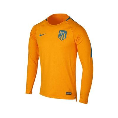 a7197c3cd03d3 Maillot Manches Longues Pré-Match Atlético Madrid Squad Orange NIKE